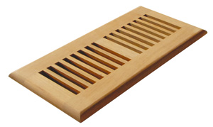 Heat vent covers, heating vent covers, wood heat vent cover
