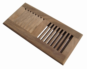 american walnut floor vent